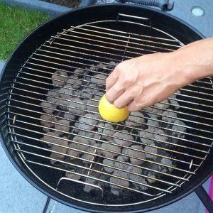 barbecue schoonmaken