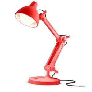 Mal Lummel Lamp Rood