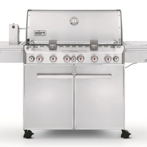 Weber Summit S-670 GBS System Edition RVS -