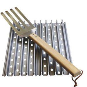 GrillGrate Kit (3x 45x13cm + gratis GrillGrate tool)