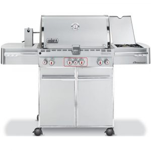 Weber Summit S-470 GBS System Edition RVS -